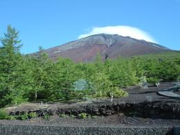Mount Fuji's peak., Ashish S - October 2007