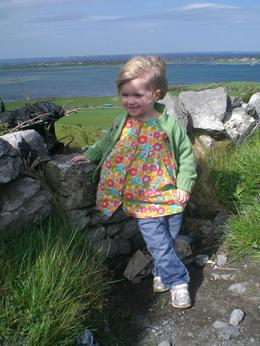 My daughter at Galway Bay., Amy K - May 2008