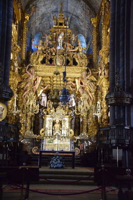 The architecture of Santiago de Compostela or St, James Cathedral was awesome. , Agnello F - July 2016