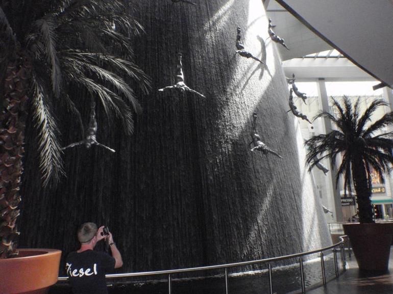 Man made waterfall - Dubai