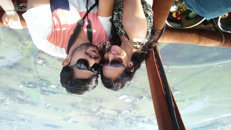Hot Air Ballooning including Champagne Breakfast from the Gold Coast