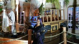 me & the boat, jenjen - October 2015
