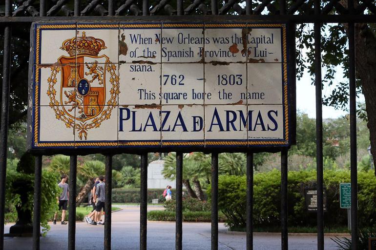 Plaza de Armas - New Orleans