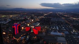 Shaky Pic of the Las Vegas Strip from the Sundance Eurocopter , derekdavies - August 2016