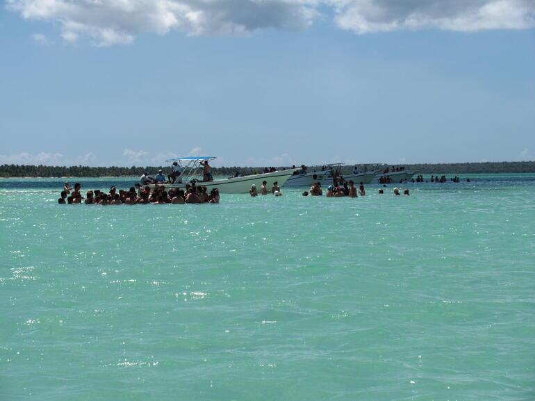 Starfish sand bar - Punta Cana