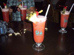 The Singapore Sling in the Long Bar. It didn't last long..., Roger R - February 2009