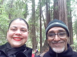 Muir woods , Maribel S - October 2016