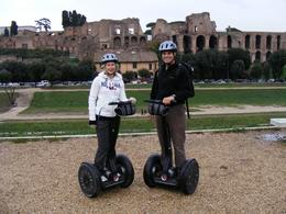 Courtney and Steve at the Circus Maximus, Steven C - January 2010
