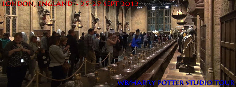 WB/Harry Potter Studio Tour-28SEP2012 - London
