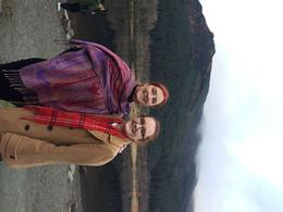 My daughter and I at Glencoe, Dec 2016 , Iris E - January 2017