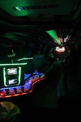 Inside the limo. , Scott W - February 2017