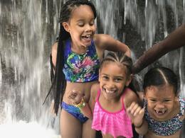 The girls at Dunn's River , Alexis B. - May 2017