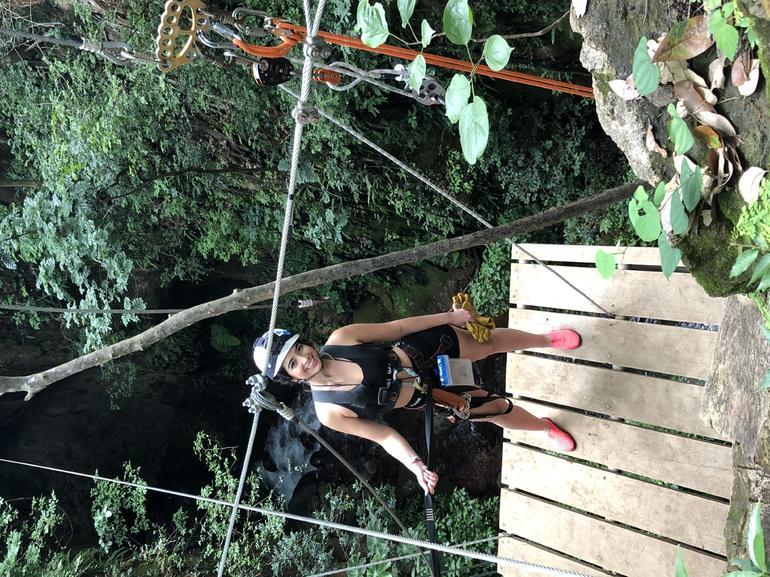 Guachipelin Adventure Volcano Zipline Horseback River Tubing Combo