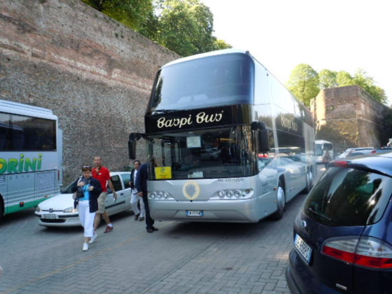 Arriving in Siena - Florence