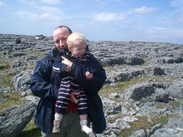 James and Rob at the Burren in County Clare., Amy K - May 2008