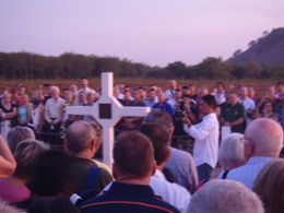 At the rising of the sun, the Dawn Service began. Lest we forget , MVIC - April 2015