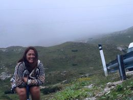 This was at the base of the 3 peaks and yes it was cold! , Maria Antonia S - August 2015