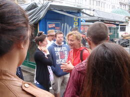Andrea is an enthusiastic and engaging tour guide. , Savvy Sightseer - August 2014