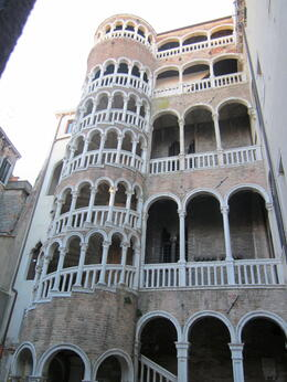 The spiral staircase - Contarini dal Bovolo , Susan E - March 2012