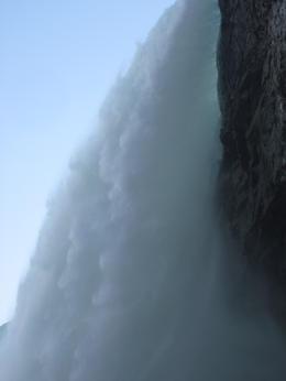 Water thundering passed us , Kay T - November 2012