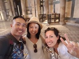 Taking a picture in front of the baptismal font, where both Robert Langdon and Sienna Brooks made a surprising discovery that took them to Venice. , weedesmond - August 2016