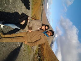 With my wife ln highland , Kaushik G - November 2013