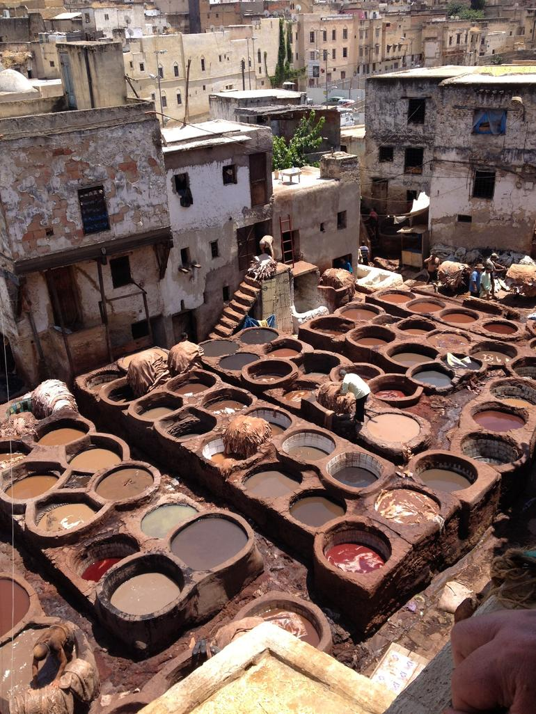 Leather Tannery in Fez - Costa del Sol