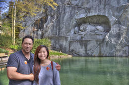 Lion Monument in Lucerne , Christopher G - May 2014