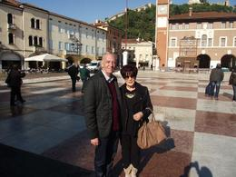 My husband and I at this famous square. Our guide on this tour took this photo for us. Such a wonderful place , Jessica Z - December 2012