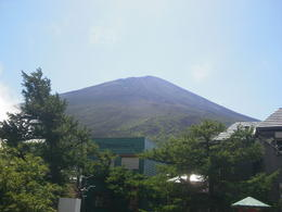 View of Mount Fuji - From the 5th Station , Claire B - September 2011