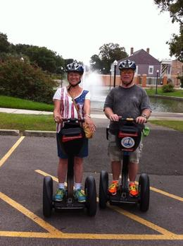 Segway photo in New Orleans , Tom - September 2014