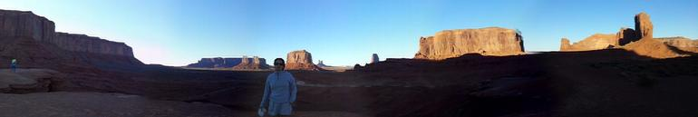 Panormica Monument Valley - Las Vegas