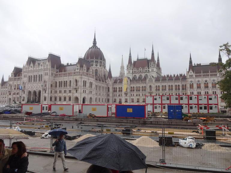 parliament tour - Budapest
