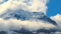 View of snow-capped Swiss alps! , drew - August 2014
