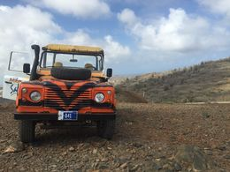We were driven through Arikok National Park and all other activities on this 4x4 jeep. Very fun and bumpy ride so make sure you buckle your seat belts , KRISTEN G - January 2016