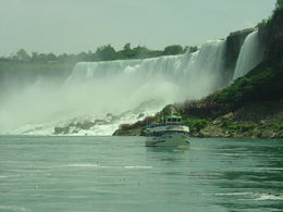 U S Falls from Hornblower Cruise, Niagara Falls , Jean R - July 2015