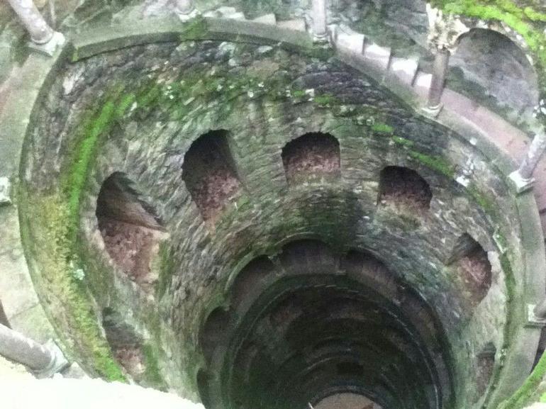 Unserground spiral staircase - Lisbon