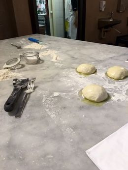 This is how you make the dough! , Loida P - June 2016