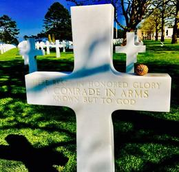 Normandy American Cemetery , Michelle F - August 2017