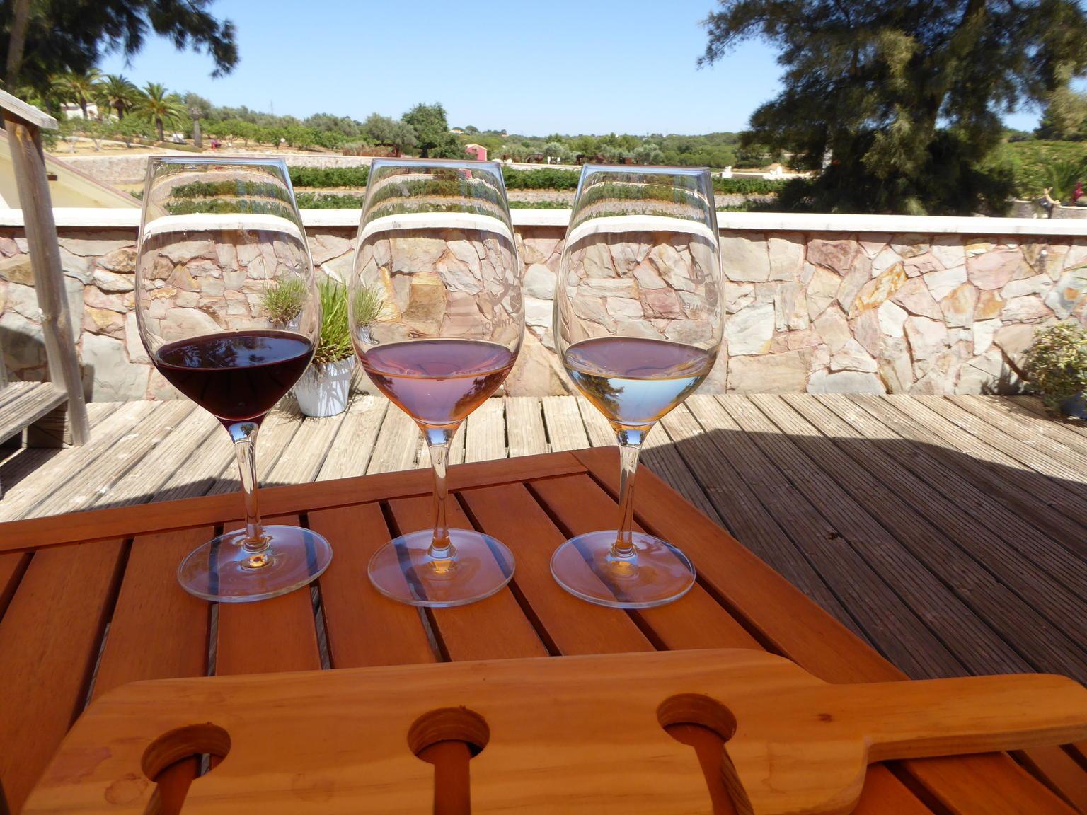 MAIS FOTOS, Excursão particular: excursão de degustação de vinhos e tapas em Algarve em motocicleta com sidecar saindo de Portimão