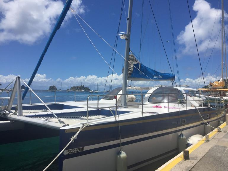 St Maarten Sailing and Snorkeling to St Barts