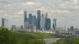 The financial center of Moscow, 3km West of Red Square. , gstozier - August 2017