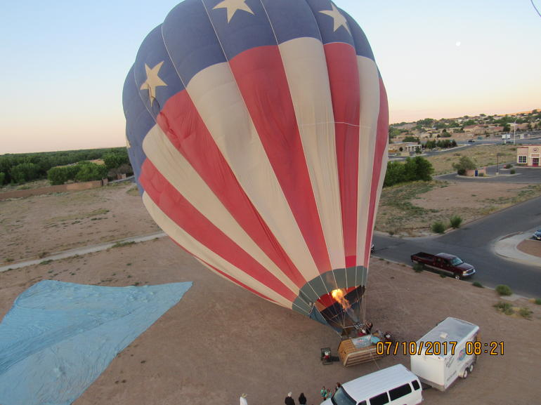 Albuquerque Sunrise Hot Air Balloon Flight
