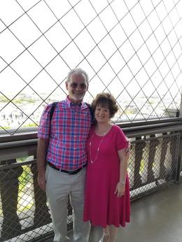 Teresa and Greg - lunch in the Eiffel Tower part of the tour with Viator , TERESA C - September 2017