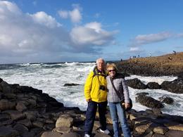Bob and Vicki at Giant's Causeway , Vicki T - September 2017