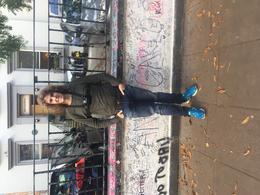 Outside Abbey Road studios , Thomas H - December 2017