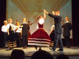 Beautiful show with various sets and different styles of Hungarian dance and music , Roy T - October 2015