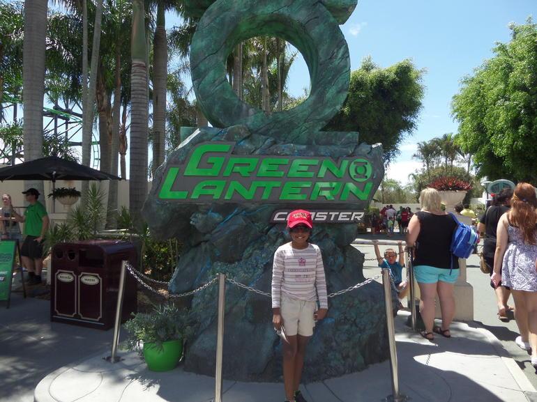 green lantern ride - Gold Coast