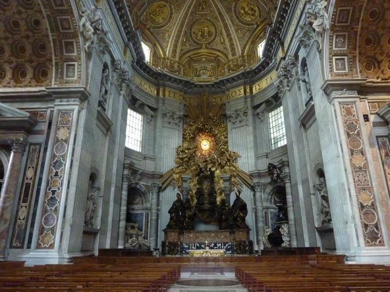 Im Petersdom - Rome