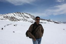 The Magnificient Jungfrau in the background, Balaji B - June 2009